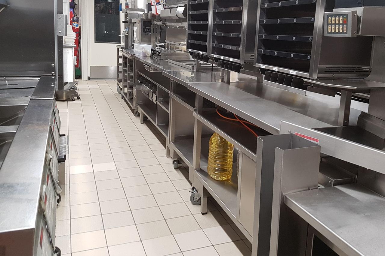 Fastfood restaurants kiezen voor foodcleaning